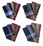 45447D Мужские носовые платки (12шт.) 38*38, Melagrana