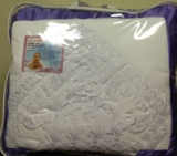 ДНН-22 Набор на выписку для новорожд с одеялом ( 9пр.) одеяло атлас,пеленки ситец и фланель,2чепч,уг
