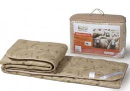 МК15-300 Одеяло шерсть овечья KLEO 140*205. 300 гр., Веста