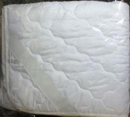 Наматрасник 160*200 стеганный на резинке наполнитель полиэфир. волокно/ Иваново текстиль