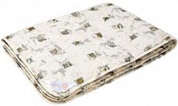 """ОАР2 одеяло """"Арго"""" 172*205 (чемодан) шерсть мериноса, ткань перкаль (100% хлопок)"""
