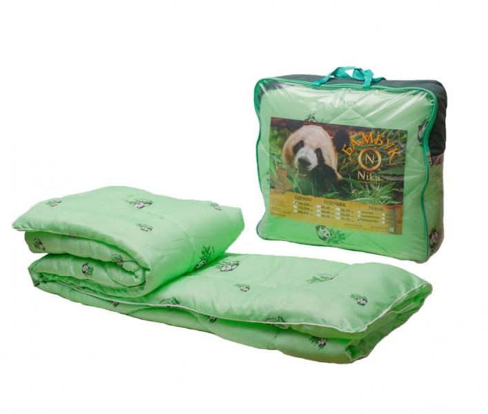 Одеяло бамбук 140*205 (300гр) ткань полиэстер ОБВ300-15,Ника