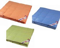 """Одеяло """"Цветотерапия"""" 200*220 стеганое легкое ЦТ21-7-2  90%пух+10%перо"""