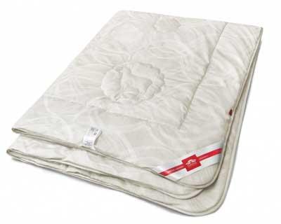 """Одеяло """"Elegant Wool"""" 150х200, ЭШ21-9-3, овечий пух монгольской породы, 100% Хлопок"""