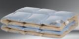 Одеяло Финское 140*205 (300гр) ткань тик, наполнитель верблюд-бамбук, чемодан, Ника