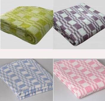 Одеяло хлопковое (100*140)  Колосок 100% хлопок