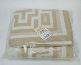 Одеяло хлопковое жаккард (байка) (140*200) 50% х/б,30%полиэстер,20%акрил, Влади