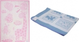 Одеяло хлопковое (байка) (100*140) жаккард детское 50% х/б,30%полиэстер,20%акрил, Влади