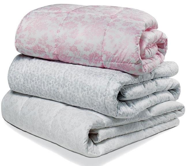 Одеяло Лебяжий пух 140*205 (вес 1,2 кг) ткань микрофибра, Ника