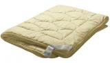 """Одеяло """"Медея"""" легкое 140*205 МД21-3-2 овечья шерсть, 100% хлопок"""