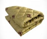 Одеяло Овечья шерсть облегч. 172*205, 150гр. упак.чемодан, Монро