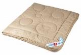"""Одеяло """"Pure Camel"""" 200*220, ЧВ21-7-2  верблюжий пух африканского верблюда , 100% Хлопок-Перкаль"""