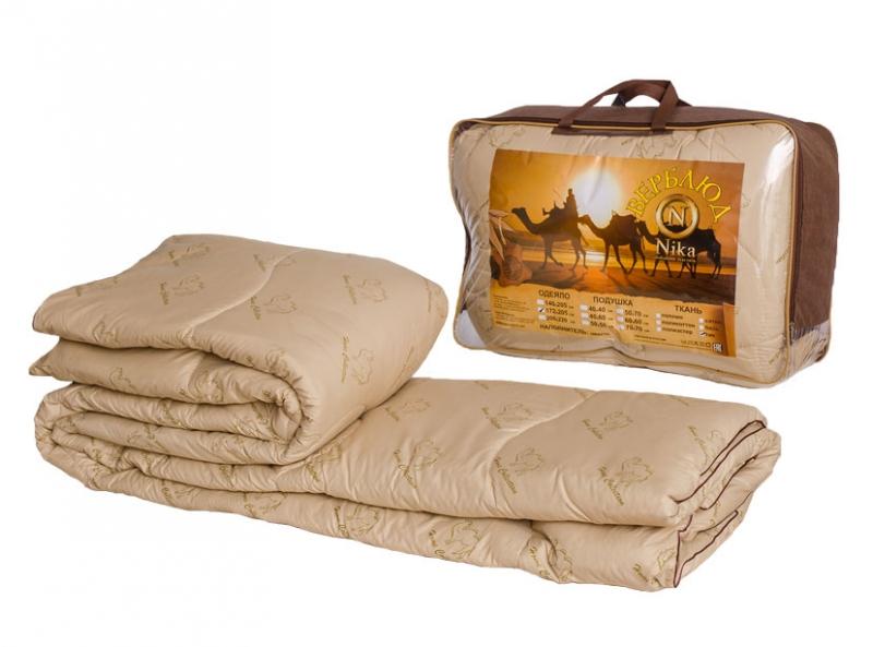 Одеяло верблюд 140*205 (300гр) ткань полиэстер ОВШ300-15П,Ника