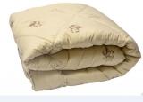 Одеяло Верблюжья шерсть облегч. 172*205, 150гр. упак.чемодан, Монро