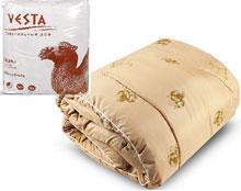 ОВШ 20эк Одеяла верблюд 200*220 пакет, Веста