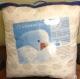 Подушка Лебяжий пух тик 70*70  в сумке ПВХ Иваново текстиль