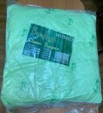 Подушка Бамбук 70*70 в ультрастепе с кантом, Монро