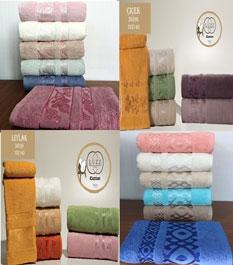 "Полотенце ""LUZZ"" (50*90) cotton махровое"